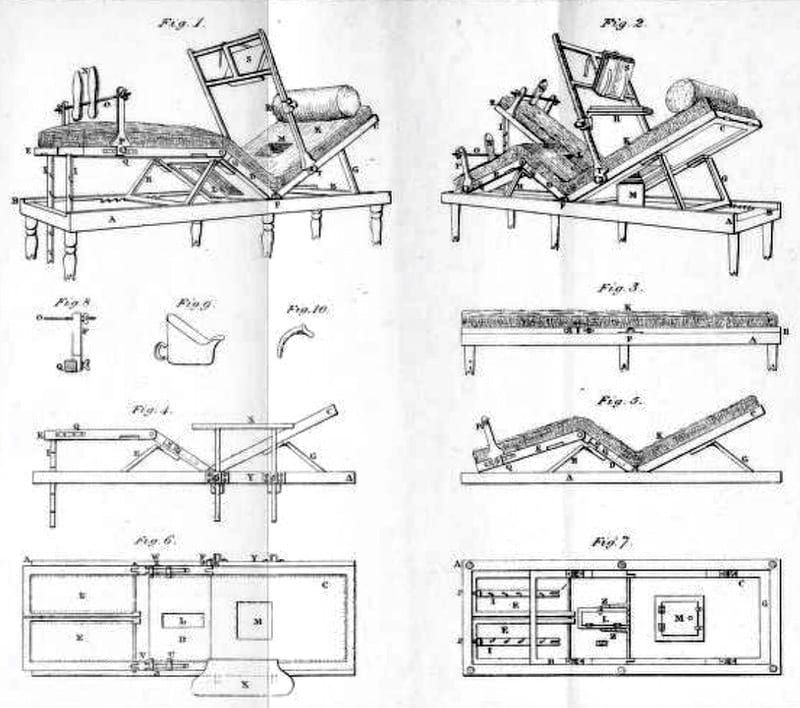 Henry Earle fracture bed 1823