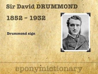 Sir David Drummond (1852–1932) 340