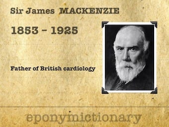 Sir James Mackenzie (1853-1925) 340