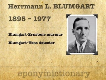 Herrman Ludwig Blumgart (1895-1977) 340