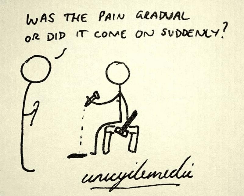 medical student history: unicyclemedic
