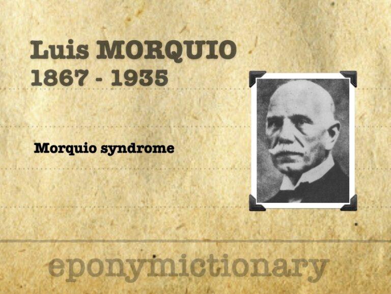 Luís Morquio (1867 - 1935) 340