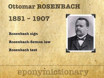 Ottomar Ernst Felix Rosenbach (1851 - 1907) 340