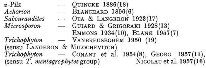 Trichophyton quinckeanum taxonomic status