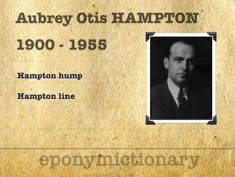 Aubrey Otis Hampton (1900 - 1955) 340