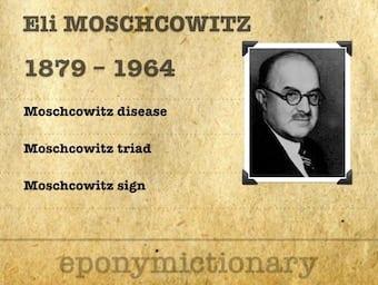 Eli Moschcowitz (1879 - 1964) 340