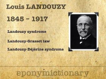 Louis Théophile Joseph Landouzy (1845 - 1917) 340