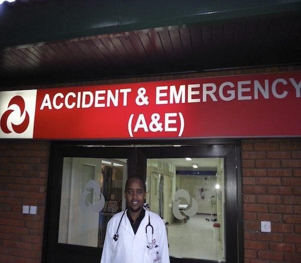Dr Jeremiah Njenga