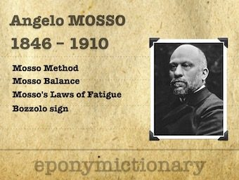 Angelo Mosso (1846 - 1910) 340