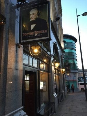 Doctor Duncan pub in Liverpool