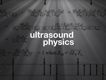 Ultrasound physicis LITFL