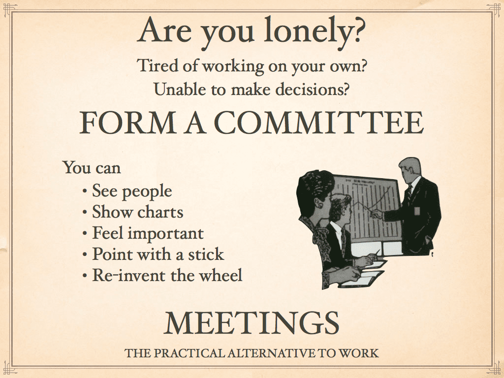Form a committee