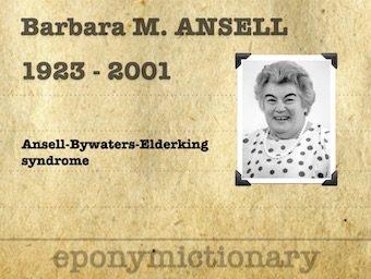Barbara Mary Ansell (1923 – 2001) 340