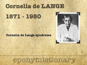 Cornelia Catharina de Lange (1871 – 1950)