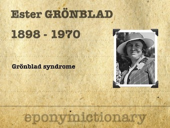 Ester Elisabeth Groenblad (1898 – 1970) 340