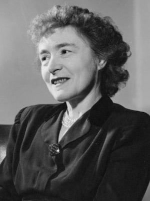 Gerty Theresa (née Radnitz) Cori (1896 - 1957)