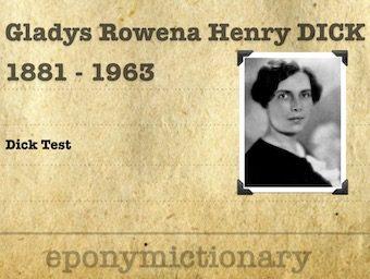 Gladys Rowena Henry Dick (1881 - 1963) 340