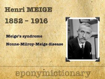 Henry Meige (1866 - 1940) 340