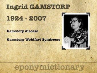 Ingrid Gamstorp (1924 – 2007) 340