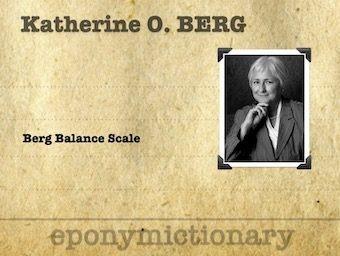 Katherine Olga Berg Canadian physical therapist 340