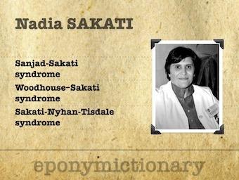 Nadia Awni Sakati Syrian-Saudi pediatrician 340