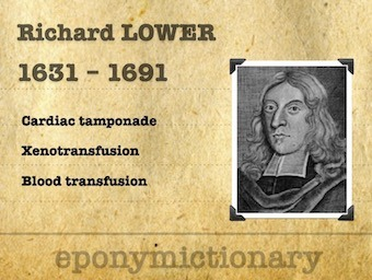 Richard Lower (1631 – 1691) 340