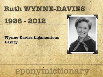 Ruth Wynne-Davies (1926 - 2012) 340
