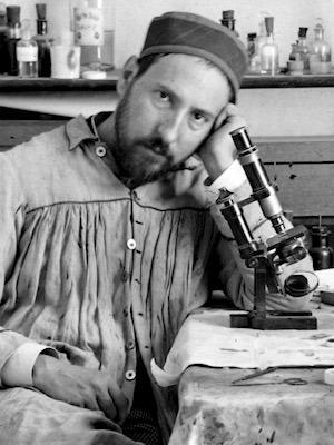 Santiago Ramón y Cajal (1843 - 1926) self portrait