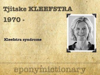 Tjitske Kleefstra Dutch Clinical Geneticist 340