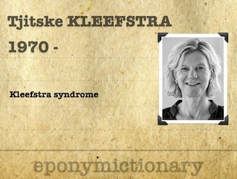 Tjitske Kleefstra Dutch Clinical Geneticist 340