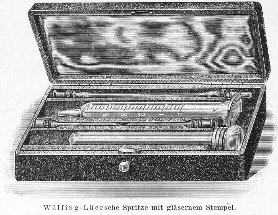 Luer 1900 Stempel aus Glas