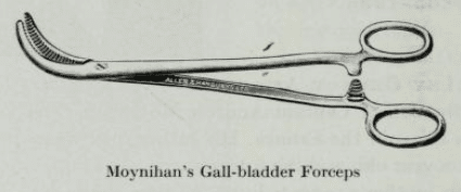 Moynihan's Gall-bladder Forceps