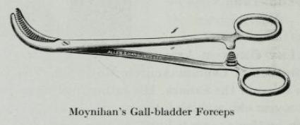 Moynihan's Gall-bladder Forceps