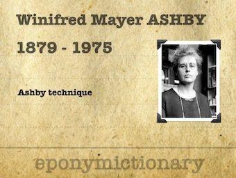Winifred Mayer Ashby (1879 - 1975) 340