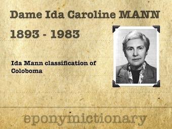 Dame Ida Caroline Mann (1893 – 1983) 340 2