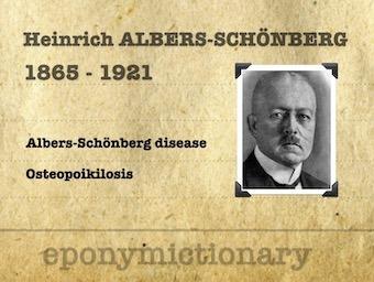 Heinrich Ernst Albers-Schönberg (1865 – 1921) 340