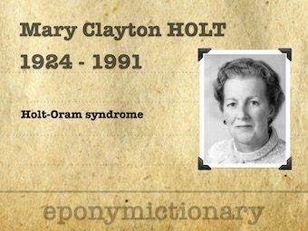 Mary Clayton Holt (1924 - 1993) 340