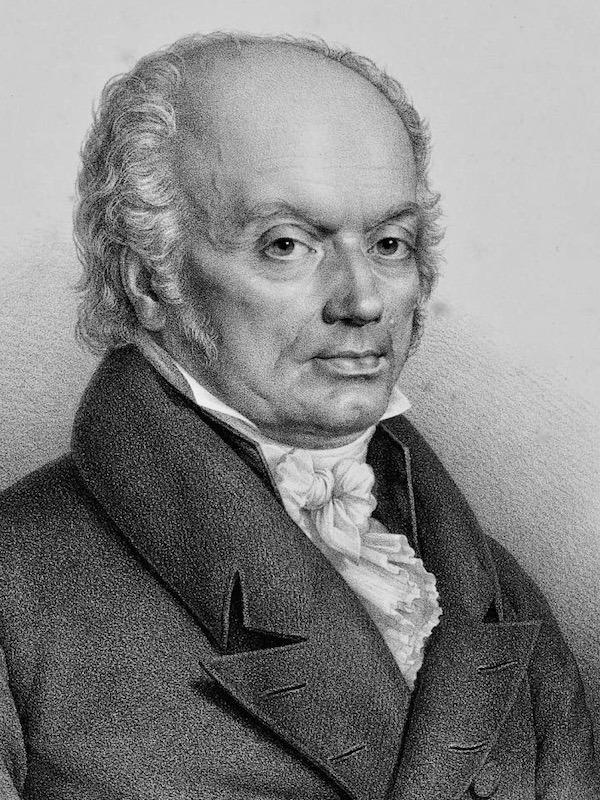 Franz Josef Gall (1758 - 1828)