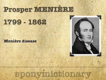 Prosper Menière (1799 - 1862) 340
