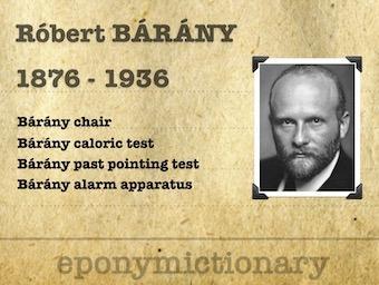 Róbert Bárány (1876 - 1936) 340