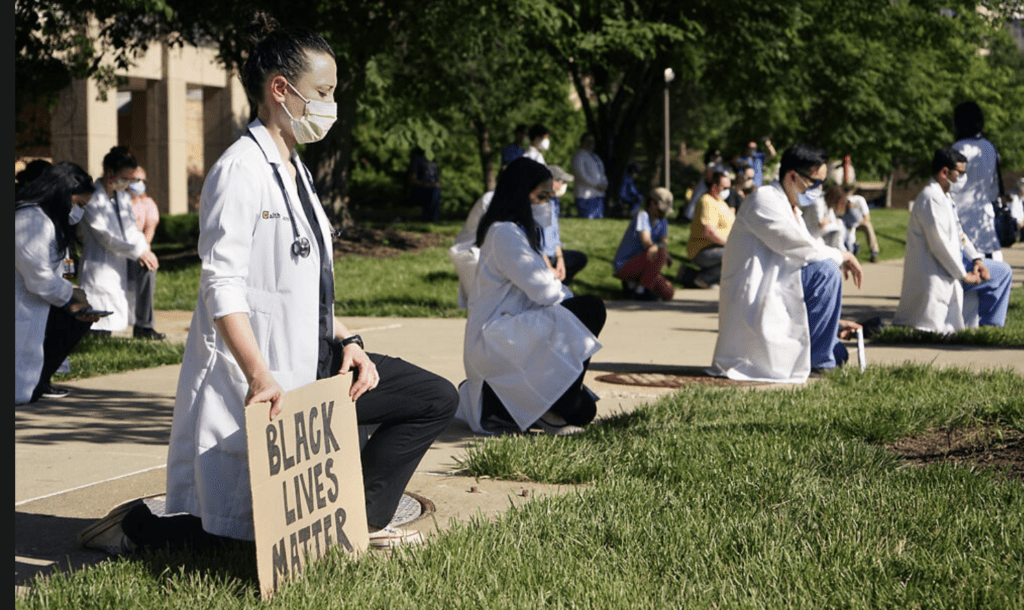 White Coats 4 Black Lives