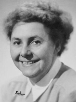 Gertrud Dina Schachenmann (1910 - 1997)