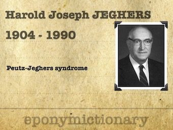 Harold Joseph Jeghers (1904 - 1990) 340
