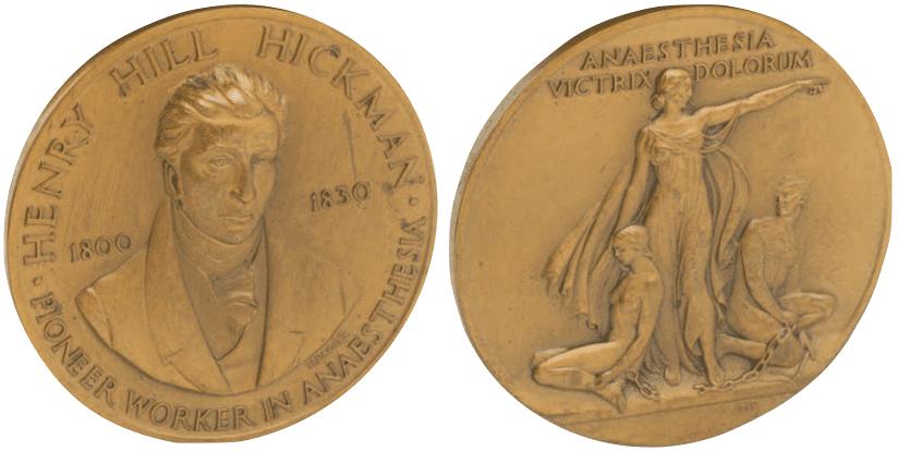 Henry Hill Hickman Medal main