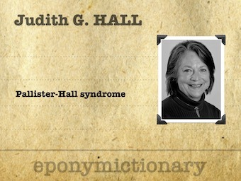 Judith Goslin Hall (1939 - ) pediatrician and clinical geneticist 340