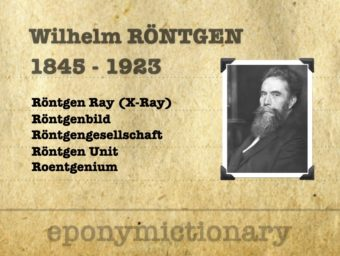 Wilhelm Conrad Röntgen (1845 - 1923) 340