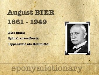 August Karl Gustav Bier (1861 – 1949) 340 2