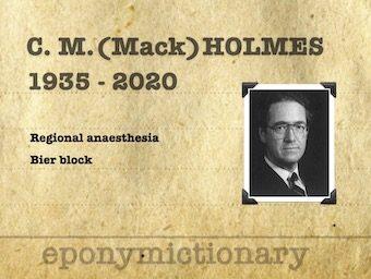 Charles McKinnon (Mack) Holmes (1935 - 2020) 2 340