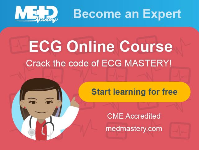 Medmastery ECG Mastery Blue Belt