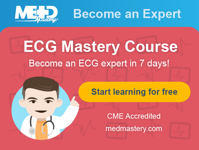 Medmastery ECG Mastery Yellow Belt